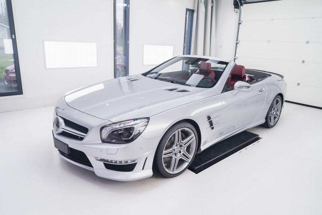 Mercedes-Benz SL63 AMG projektikuva
