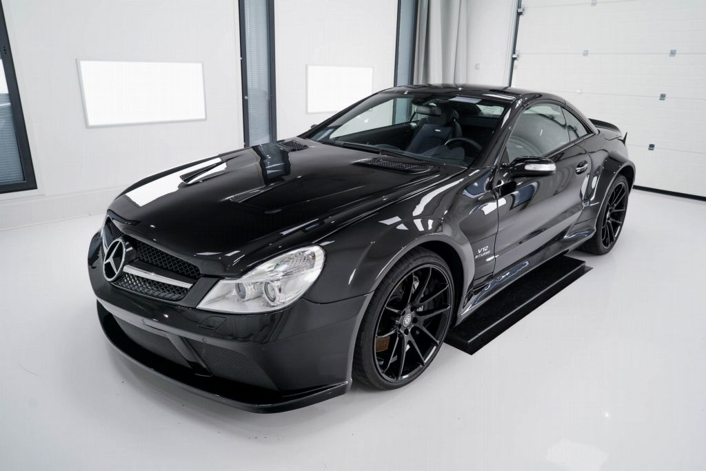 Mercedes-Benz SL65 AMG projektikuva